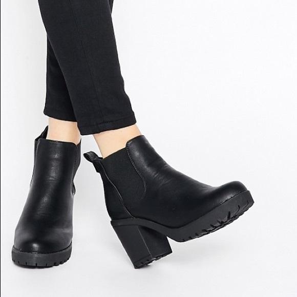 4e1c70bff7b ASOS Truffle Collection Platform Chelsea Boots